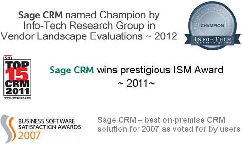 Sage CRM Awards